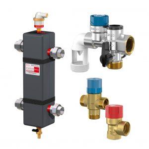 Componentes instalacoes aquecimento